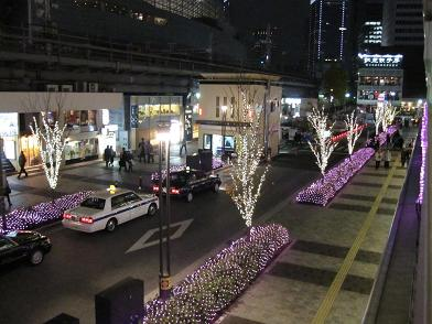 LIGHTING OBJECT ILLUMINATION 2009 in Yurakucho_3.JPG
