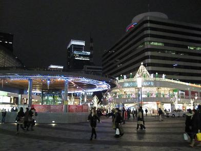 LIGHTING OBJECT ILLUMINATION 2009 in Yurakucho_4.JPG